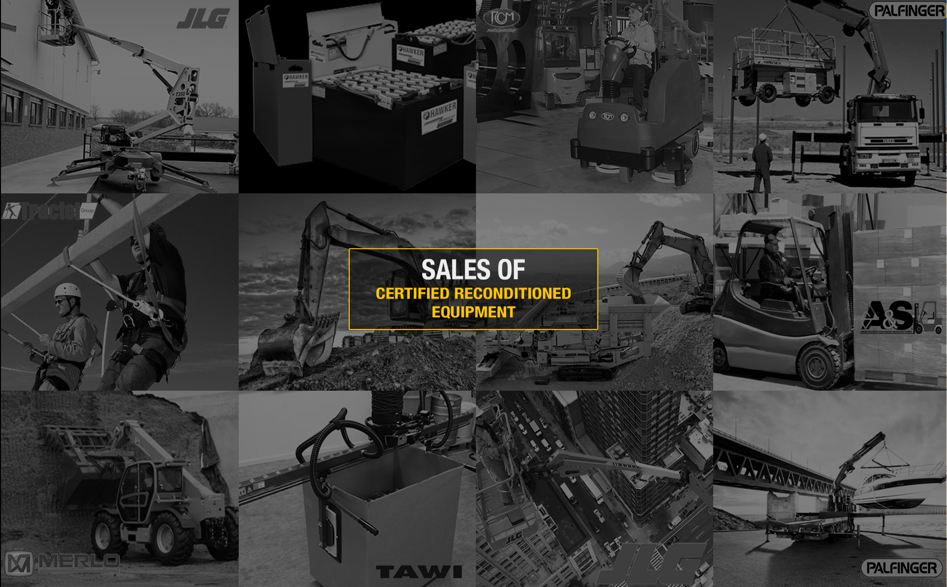 Sale of reconditioned equipment
