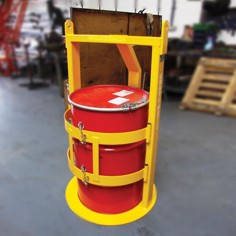Drum-Cage-750kg-Grab-O-Matic