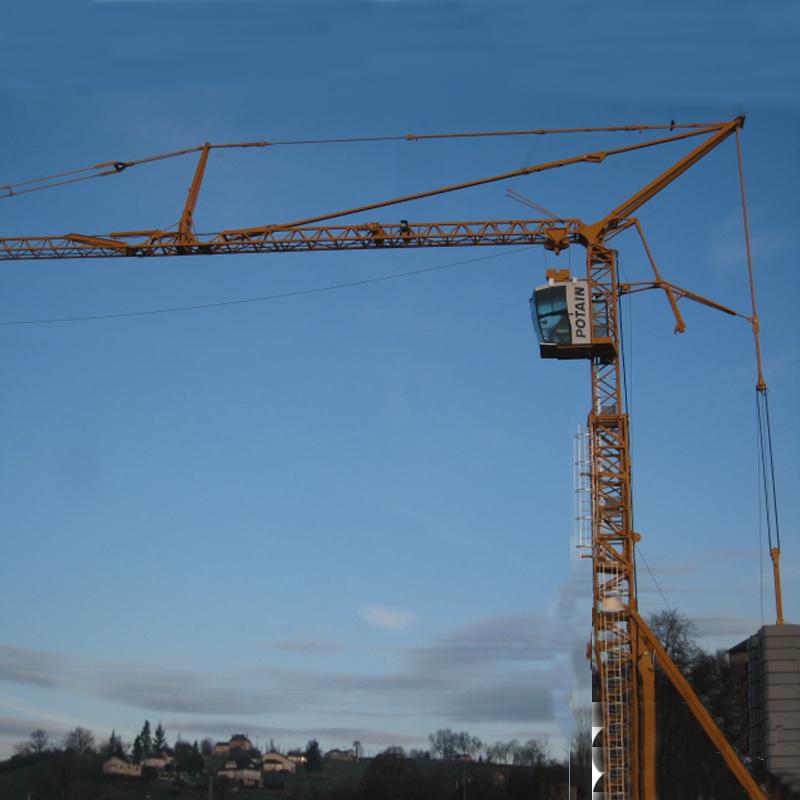 Potain-Igo-T130-igo-t-Self-erecting-crane-Tower-crane