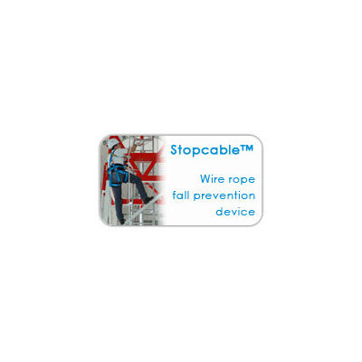 Stopcable - Wire rope fall prevention device